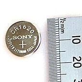 GP 1x CR1620-C1 Lithium 3v Battery