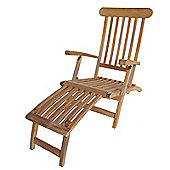 Bentley Garden Teak Steamer Chair