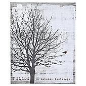 Winter Tree Canvas 40x50cm