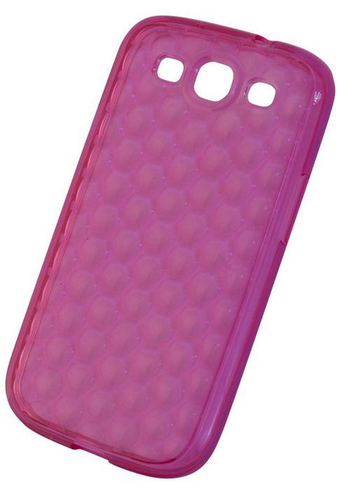 "Tortoiseâ""¢ Soft Gel Case Samsung Galaxy SIII Raindrop Pink"