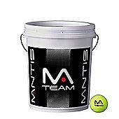 Mantis Team Premium Quality Tennis Balls - 72 Ball Bucket