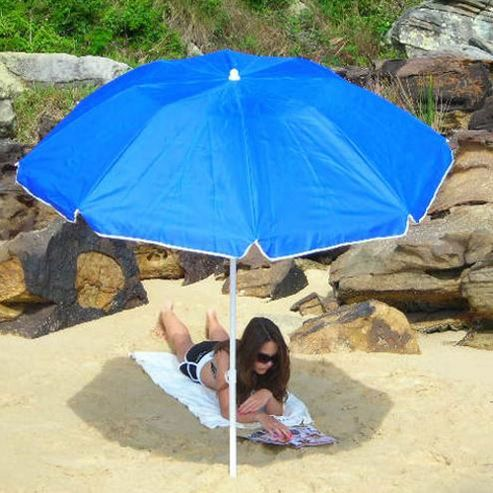 Sunproof Portable UV Folding Beach Umbrella