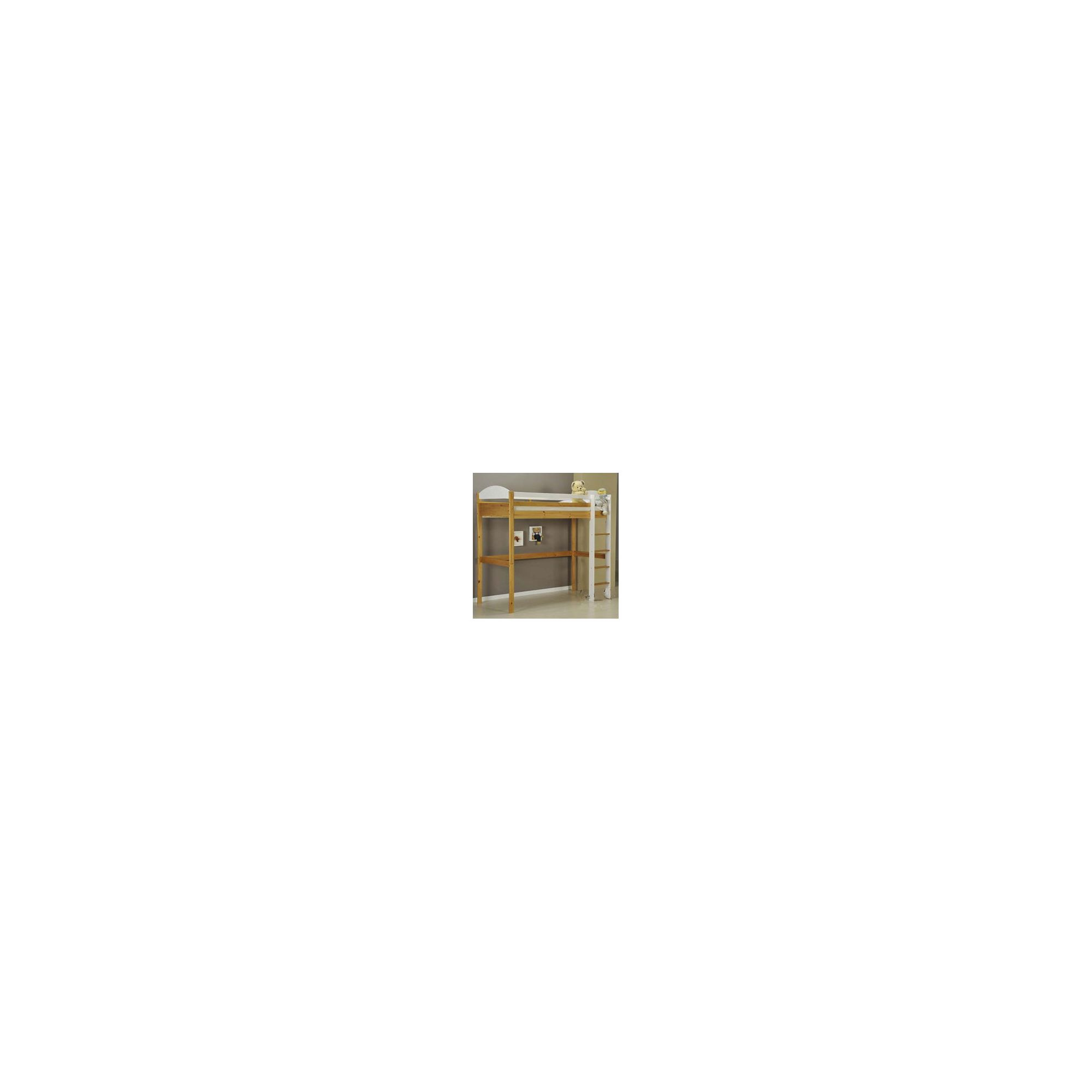 Verona Maximus Highsleeper Bed Frame - White at Tesco Direct