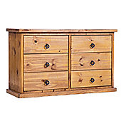 Core Products Farmhouse FH333 Pine 3+3 Chest of Drawers