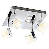 Home Essence Baron 4 Bulb Ceiling Light