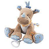 Nattou Musical Soft Toy - Louis the Rhino