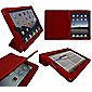 iTALKonline 19337 PadWear Executive Red Wallet Case With TRI-FOLD SMART TILT For Apple iPad 2 (Wi-Fi and 3G)
