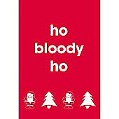 Ho Bloody Ho Card (Single)