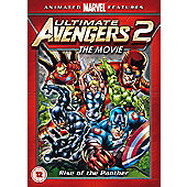 Ultimate Avengers 2 - Rise Of The Panther DVD