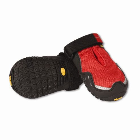 Ruff Wear Bark'n Boots? Grip Trex? Dog Boot in Red Currant - X-Small (5.7cm W)