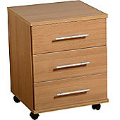 Home Essence Camden 3 Drawer Filing Cabinet