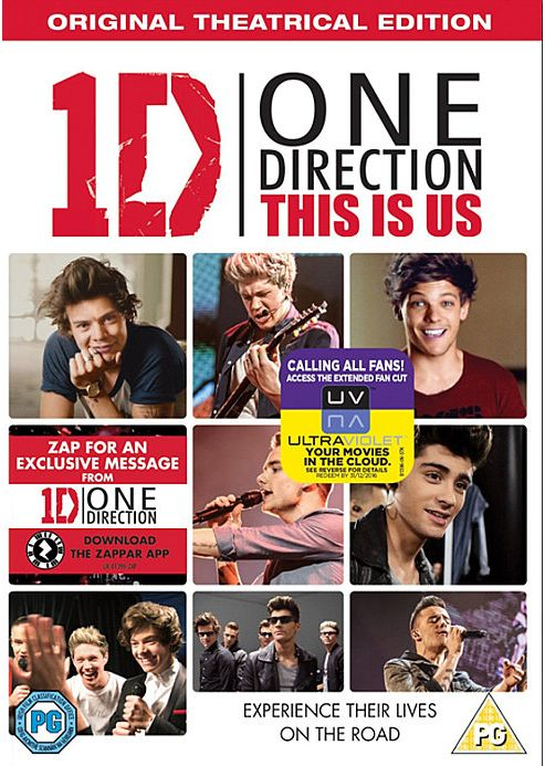 One Direction - This Is Us DVD