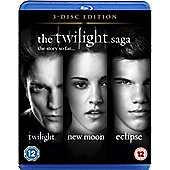 The Twilight Saga Triple - Twilight / New Moon / Eclipse (Blu-ray Boxset)