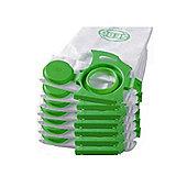 Sebo 7029-10PACK 10x 3 Layer Dust Bags for Sebo Dart & Felix Models