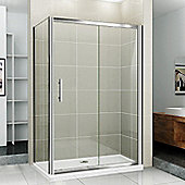 Blue Bear Direct AquaSpa Deluxe Sliding Door - 185 cm H x 140 cm W