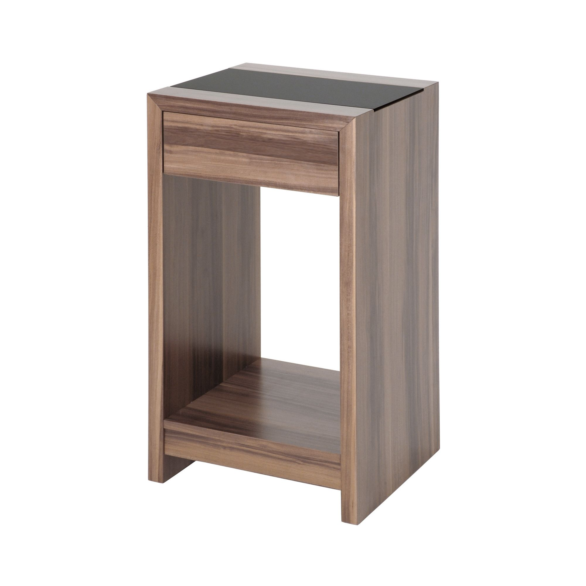 Urbane Designs Supra Nut Console Table in Walnut