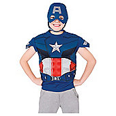 Rubies UK Captain America Dress Up Set- S.