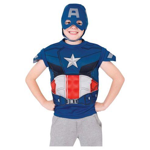 Rubies UK Captain America Dress Up Set- S.