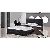 Interiors 2 suit Cosmopolitan Bedframe - Small Double - Brown