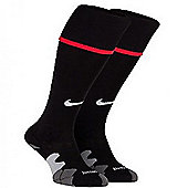 2012-13 Manchester United Nike Home Socks (Black) - Black