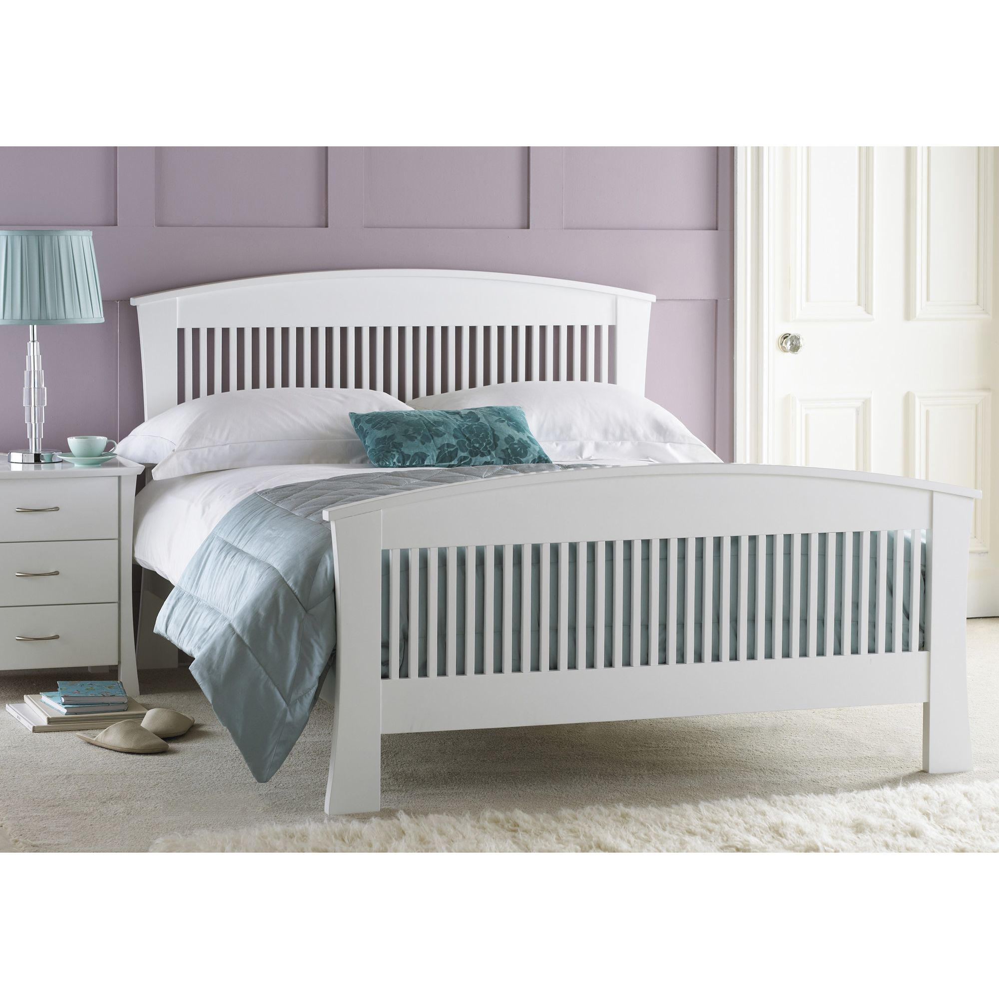 Hyder Hampton Oak Bed - King at Tesco Direct