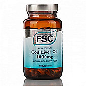 High Potency Cod Liver Oil 1000Mg