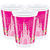 Disney Princess Cups - 180ml Plastic Party Cups, Pack of 10