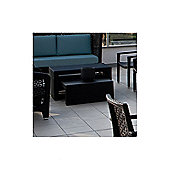 Varaschin Altea High Coffee Table by Varaschin R and D - Dark Brown