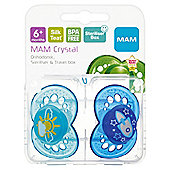 Mam Crystal Soother 6+ X2