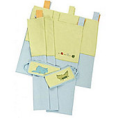 Dormouse Croc and Rumble Curtains & Tie Backs