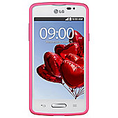 Tesco Mobile LG L50 White/Pink