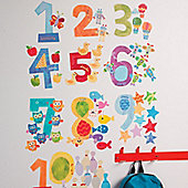 Counting Numbers Wall Stickers