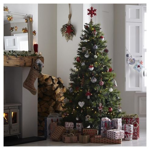 buy 7ft colorado pine christmas tree from our christmas. Black Bedroom Furniture Sets. Home Design Ideas