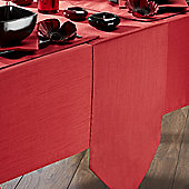 Home Creations Faux Silk Table Runner - Cream
