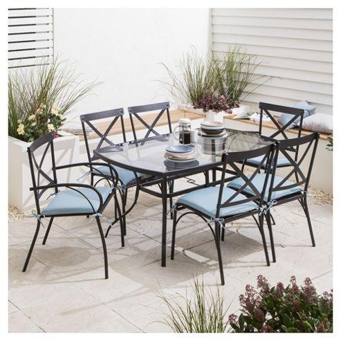 Buy Lucerne Garden Dining Set 7 Piece From Our Garden Furniture Sets Range