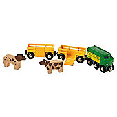 Brio Farm Train, wooden toy