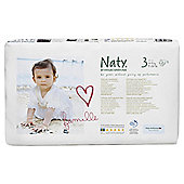 Naty By Nature Babycare Nappies Size 3 Economy Pack X 52'S