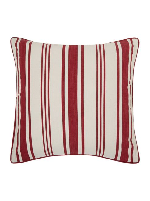 buy linea red stripe print cushion from our cushions range. Black Bedroom Furniture Sets. Home Design Ideas