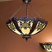 Kansa Lighting Rococo Ceiling Mount Uplighter