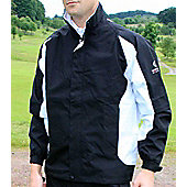 Sunderland Mens Tour Performance Waterproof Jacket - Black & White