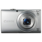 Canon PowerShot A4000 Digital Camera, Silver, 16MP, 8x Optical Zoom, 3.0 inch LCD Screen