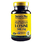 Nature's Plus L-Lysine 90 Capsules 500mg