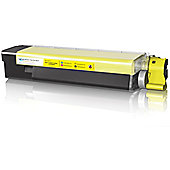 Media Sciences - OKI 43324421 Compatible Yellow Toner Cartridge (5000 Pages)