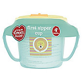 TESCO LOVES BABY AND TODDLER FLIP TOP FIRST CUP BOY