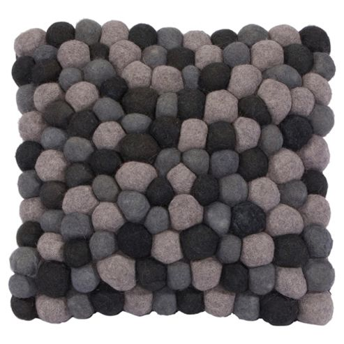 The Ultimate Rug co. Rocks cushion Grey 43x43cm