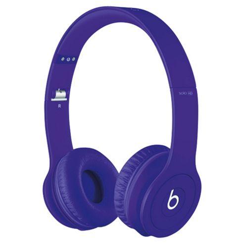 Beats By Dr Dre Solo HD Over-the-ear overhead headphones, Monochromatic Purple