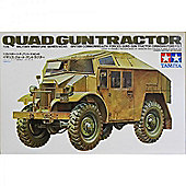 British Commonwealth Forces Quad Guntractor - 1:35 Scale Military - Tamiya