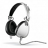 Aviator 2.0 On Ear Headphones White w/Mic