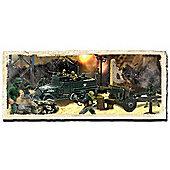 Forces Of Valor Us M3A1 Half Track & Soldier Set 85105 1:72 Diecast Model