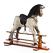 Large Grey Rocking Horse Misty